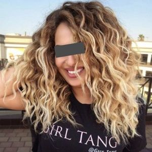 Accessories - Curly hair fashion wig